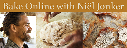 Online Sourdough baking course with Niel Jonker